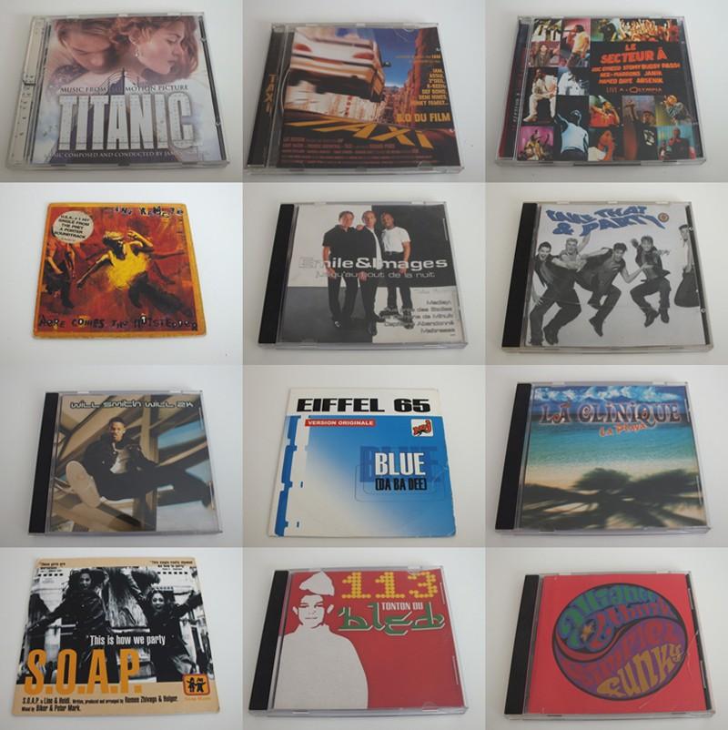 Musiques des années 90  Cd90a10