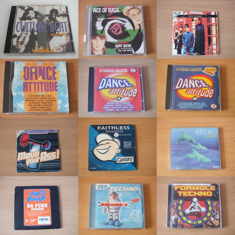 Musiques des années 90  Cd90b10