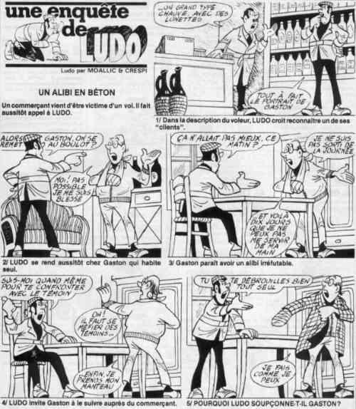Les enquêtes de Ludo / Les énigmes de Ludo Ludo5910