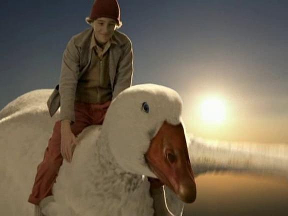 nils et les oies sauvages film