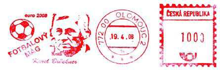 tschechischer Freistempel Karel Brückner Bruckn10