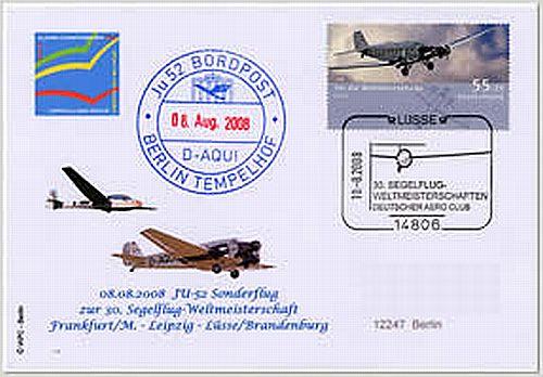 Erstflüge, Sonderflüge und neue Ballonpost - Seite 2 Luesse14