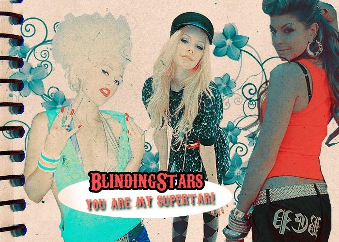 Blinding Klinking Stars : *