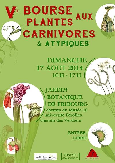 5ème Bourse aux plantes carnivores et atypiques le 17.08.2014 à Fribourg/Suisse Bourse11