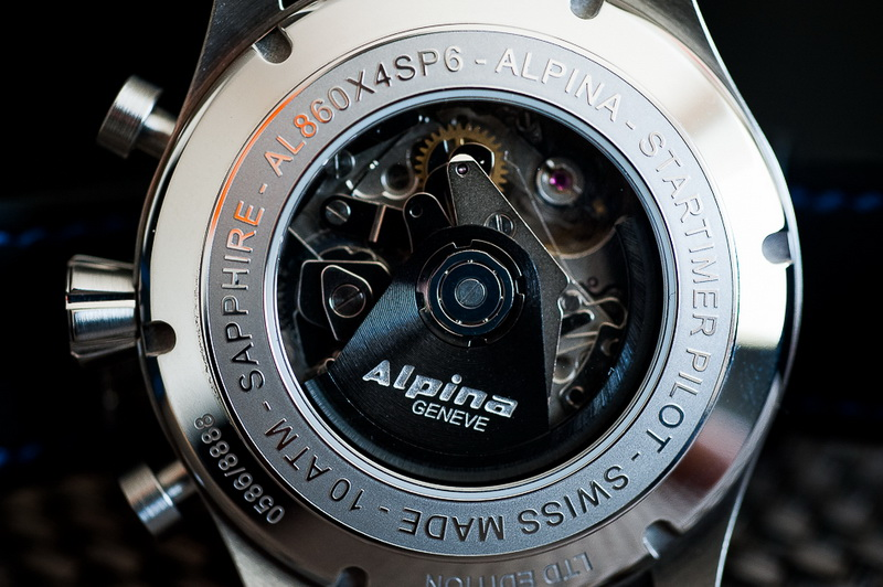 "Alpina - [Revue] Alpina Startimer Pilot Chrono ""Sunray"" Alpina13"