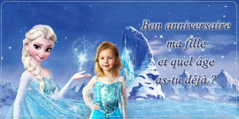 montage reine des neiges Dolly010