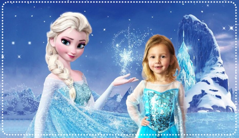 montage reine des neiges Dolly011