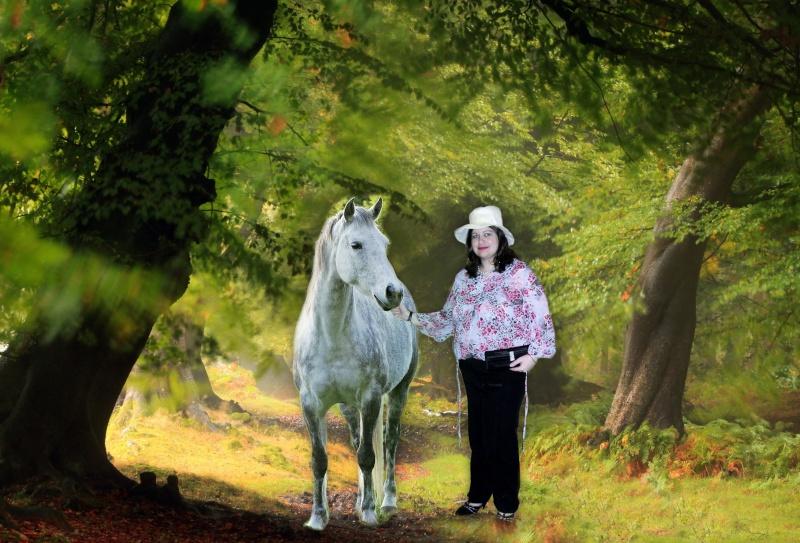 photo montage avec un cheval Ho4xv710