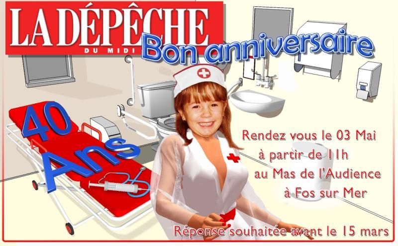 INVITATION ANNIVERSAIRE 40 ANS Nurse10