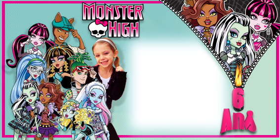 invit anniversaire monster high Tess2010