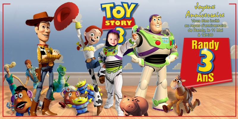 anniversaire théme toy story Toysto10