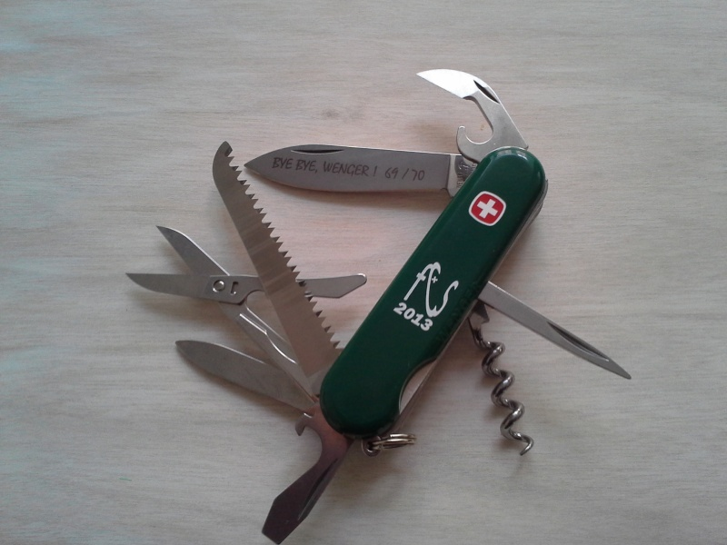 Ma collection Victorinox et wenger. [par Lucke] - Page 4 20140117