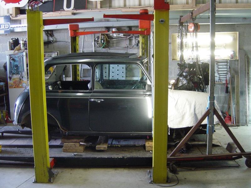 Restauration de la MINI Classic 35 de Dominique. Dsc05530