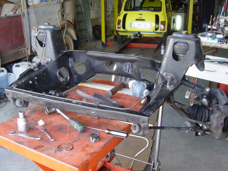 Restauration de la MINI Classic 35 de Dominique. Dsc05623