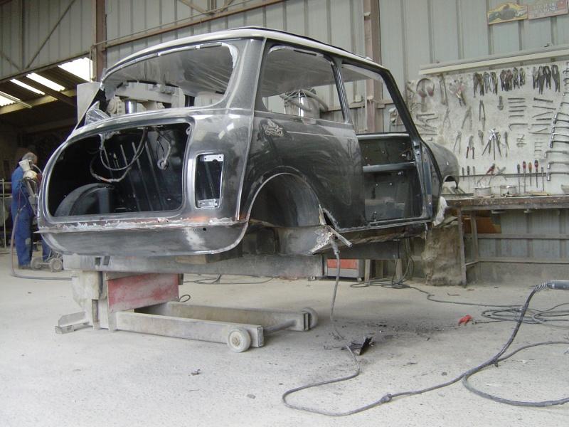 Restauration de la MINI Classic 35 de Dominique. Dsc05818