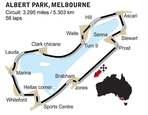 GP d'Australie le 15 mars (Melbourne) 42810