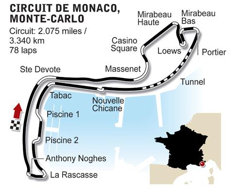 GP de Monaco 25 mai 2014 Monaco 44310