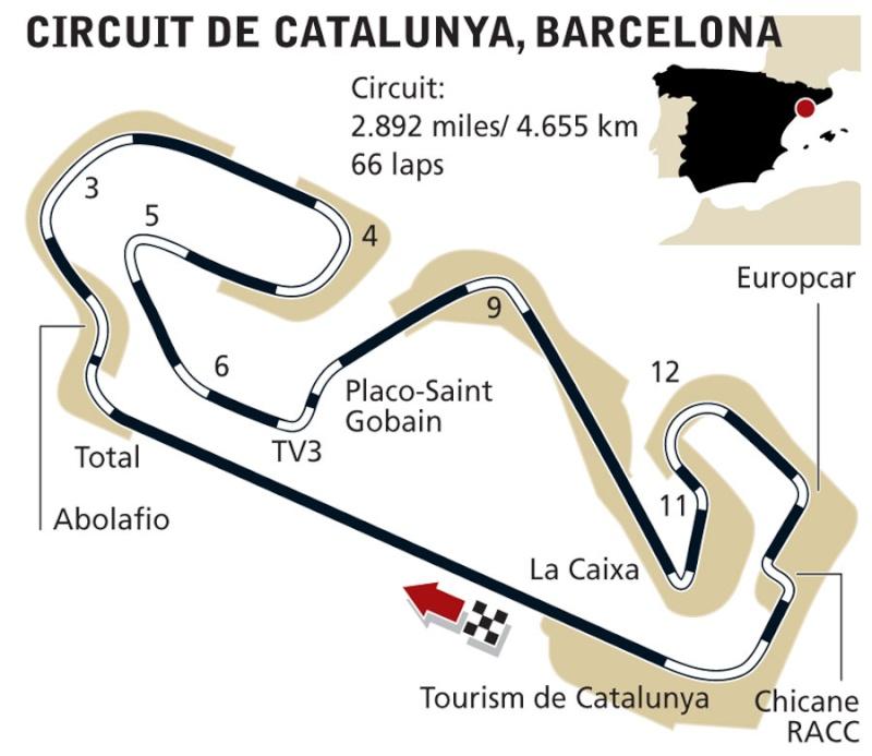GP d'Espagne 11 mai 2014 Barcelone 56310