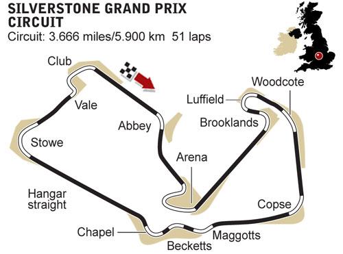 GP de Grande-Bretagne le 5 juillet (Silverstone) 56410