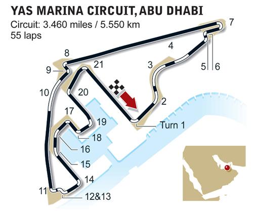 GP d' Abou Dhabi le 29 novembre (Yas Marina) 56912