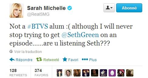 Sarah - TWITTER officiel 13-12-22