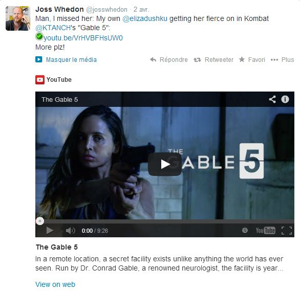"Eliza dans ""The Gable 5"" Joss-011"