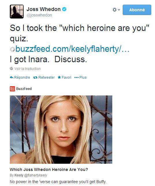 Quel(le) héros/héroïne de Whedon êtes-vous ? Joss10