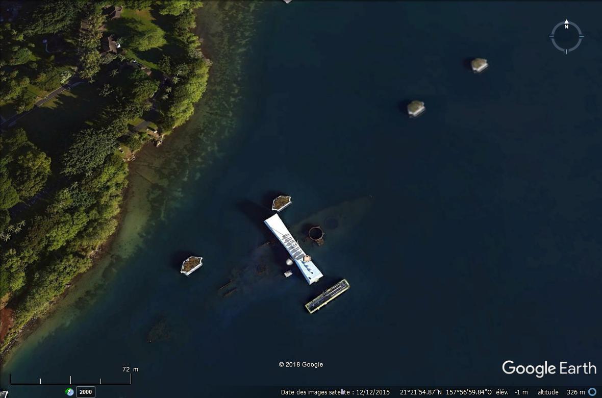 Un des derniers rescapés de Pearl Harbor a été inhumé en mer, dans l'épave d'un navire de guerre Arizon10