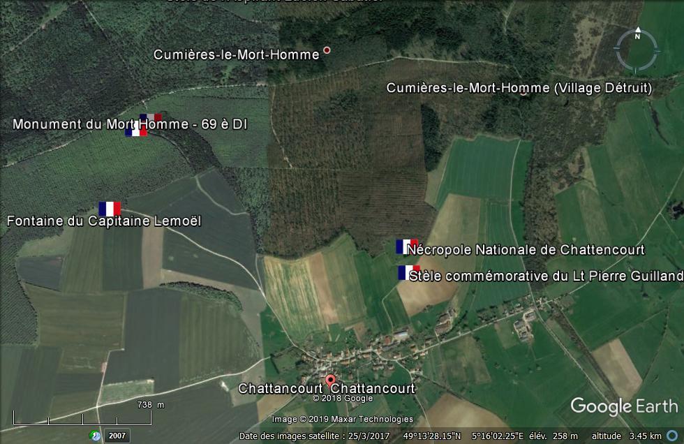 Meuse: Un Poilu inhumé 103 ans après sa mort à Verdun Chatto10