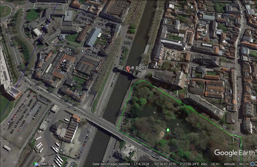 Tournai s'apprête à dire adieu à son pont médiéval promis à la destruction Le_pon11