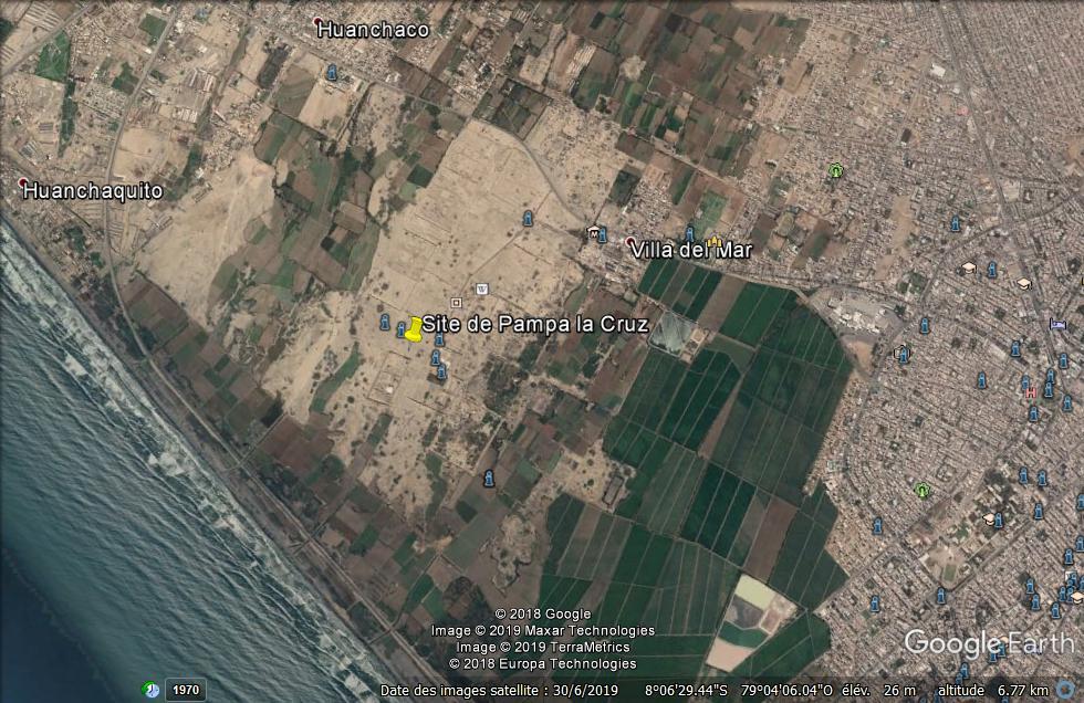 Site archéologique de Pampa la Cruz Pérou Site10