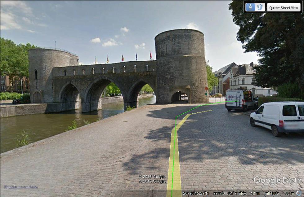 Tournai s'apprête à dire adieu à son pont médiéval promis à la destruction Street13