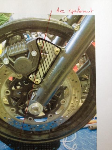 Conception axe de roue avant Pla10
