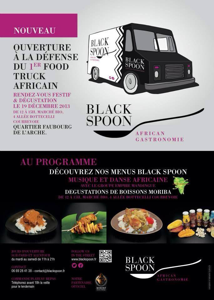 Fati Niang - créatrice de Black Spoon, 1er food truck africain à Paris 14674610