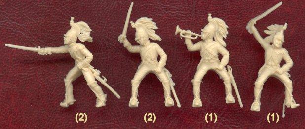 Dragons de la ligne à cheval au 1/72. Ita60113