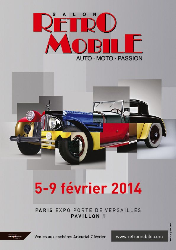 Rétomobile 2014 Affich11
