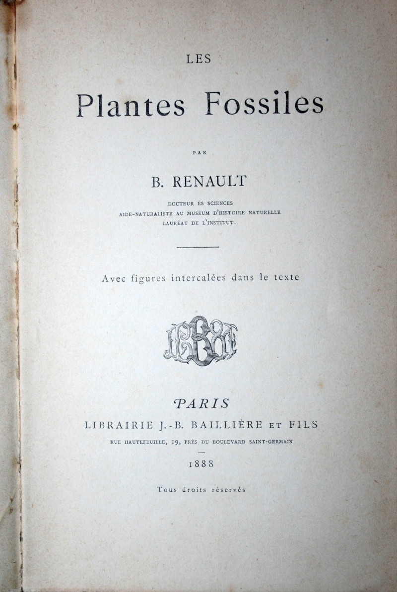 Bibliographie et sites web sur la  paléobotanique Img_0610