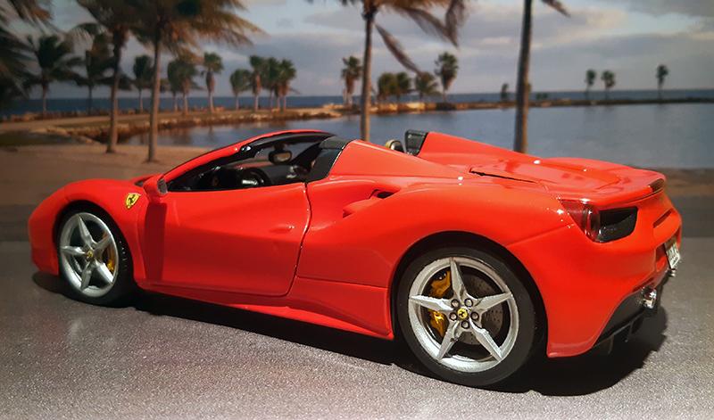 """Ferrari 488 Spider """"Magnum P.i."""" Fvwmif10"""