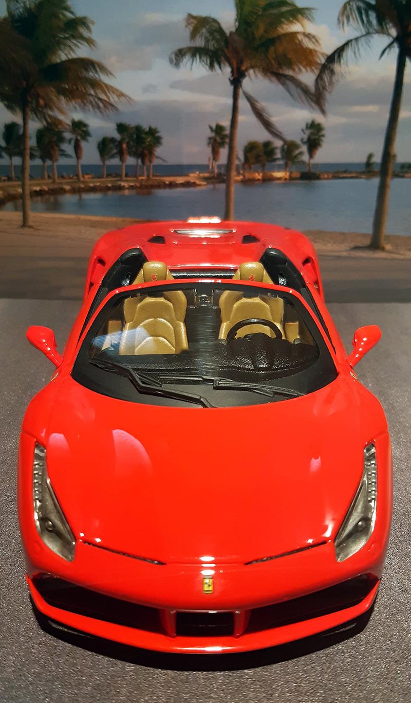 """Ferrari 488 Spider """"Magnum P.i."""" Gwxg5n10"""