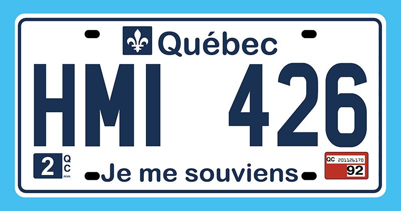 Plaques Québécoises Quabec10