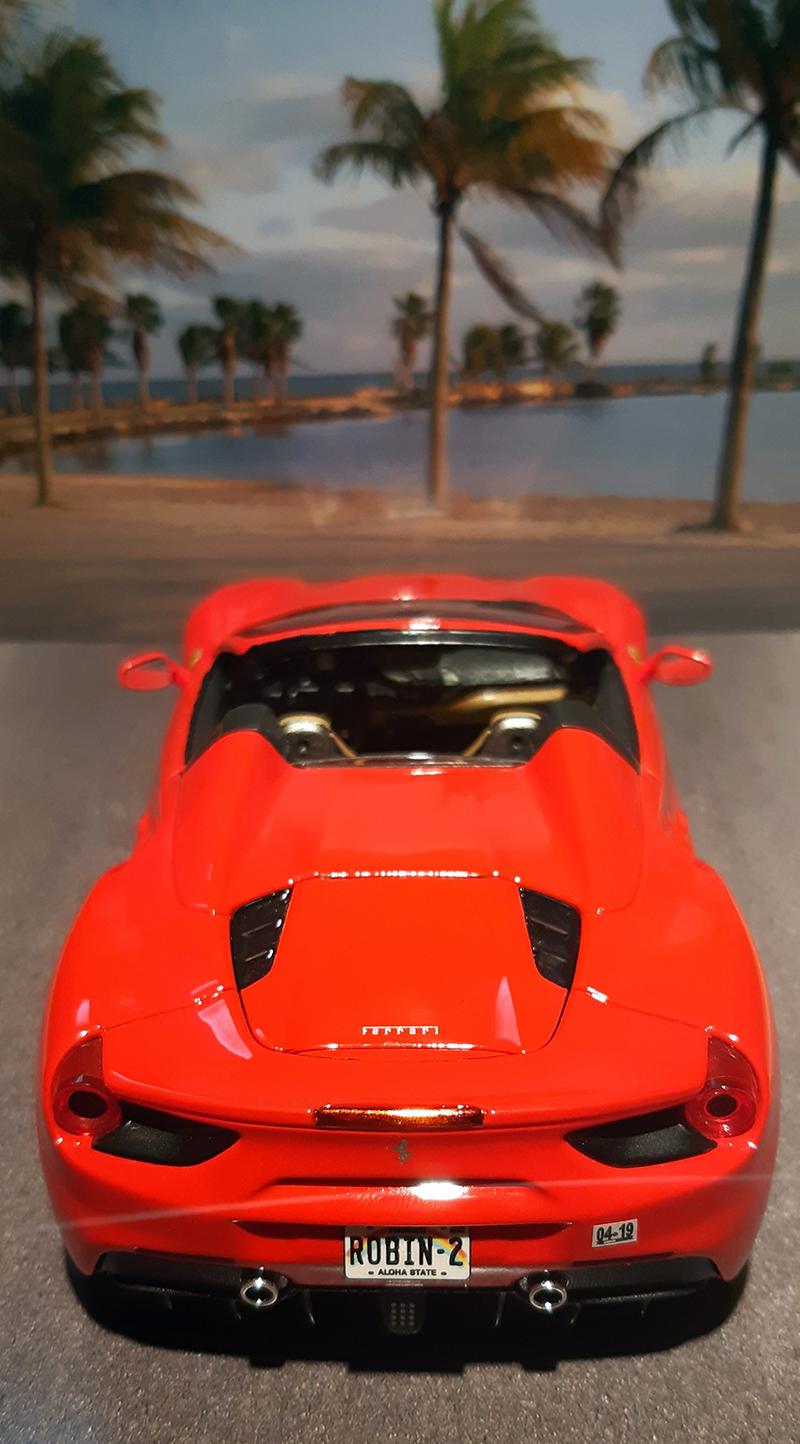 """Ferrari 488 Spider """"Magnum P.i."""" R3-odw10"""