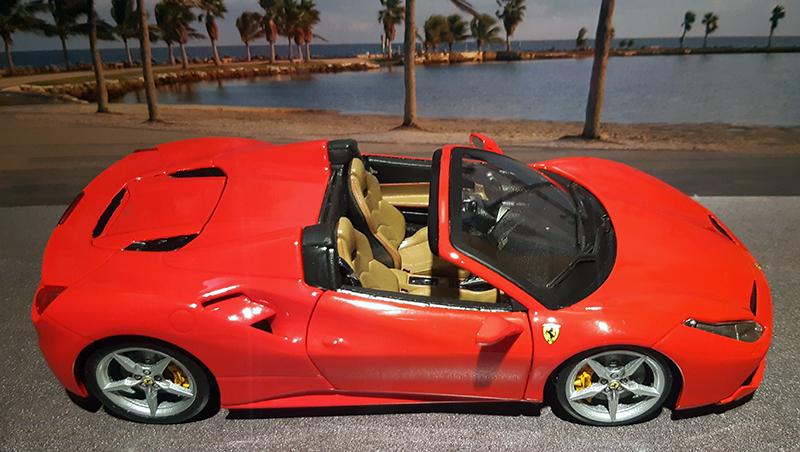 """Ferrari 488 Spider """"Magnum P.i."""" T8phnu10"""