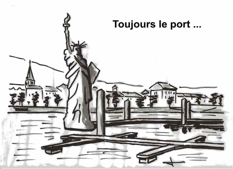 Dessins: Seyssel avant les élections municipales 2008 08-03-12