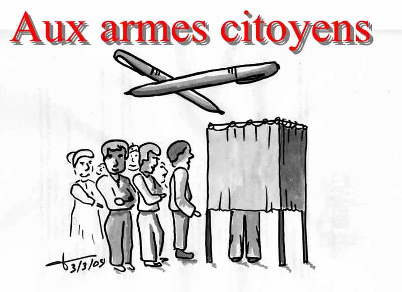 Dessins: Seyssel avant les élections municipales 2008 08-03-13
