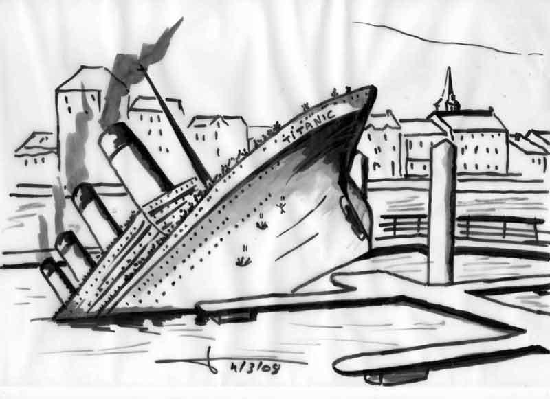 Dessins: Seyssel avant les élections municipales 2008 08-03-14