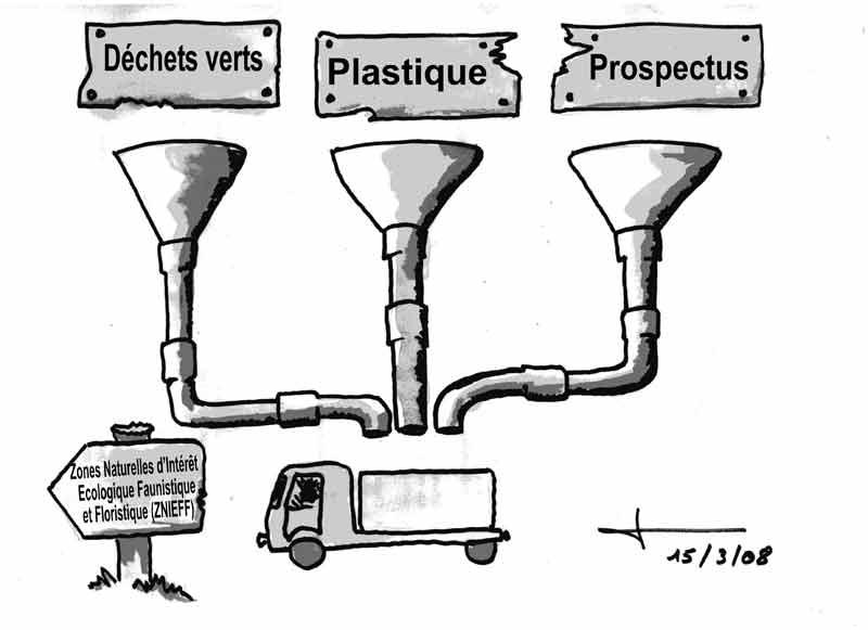 Dessins: Seyssel avant les élections municipales 2008 08-03-23
