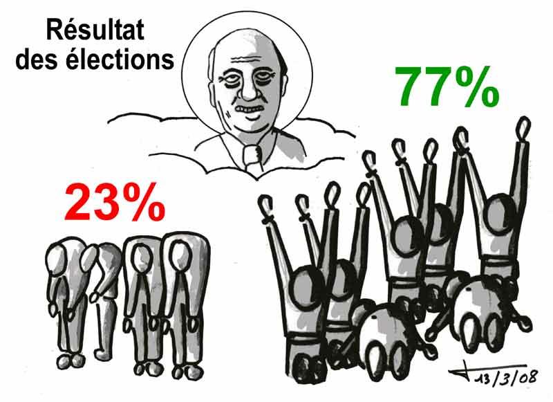 Dessins: Seyssel avant les élections municipales 2008 08-03-24