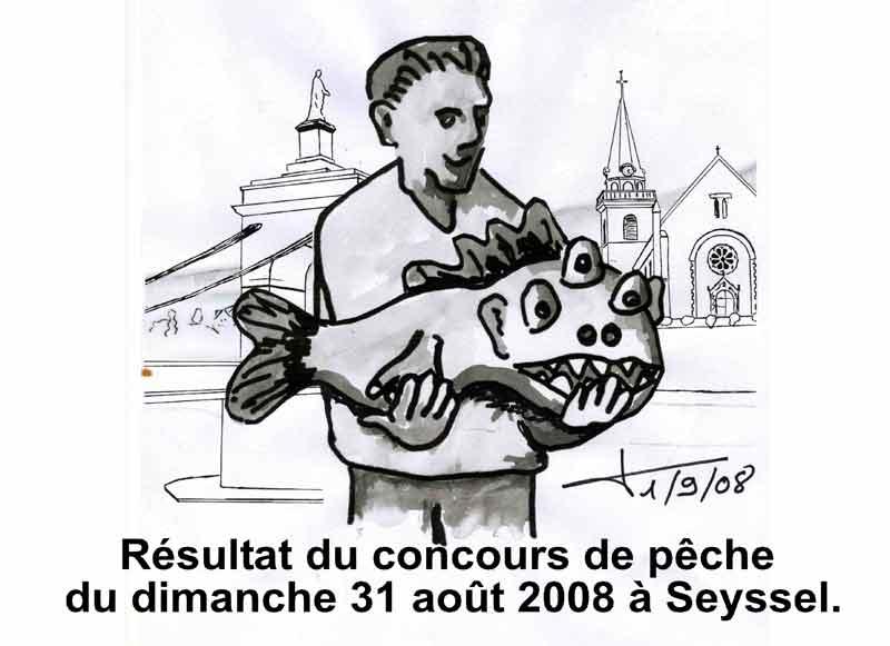 Dessins : Seyssel après les èlections municipales 2008 08-08-21