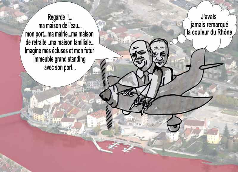 Dessins : Seyssel après les èlections municipales 2008 08-09-17