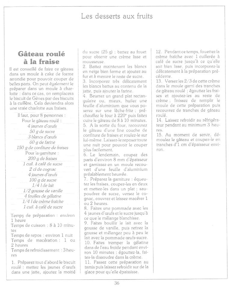 Gâteau roulé à la fraise de Magali Gateau11